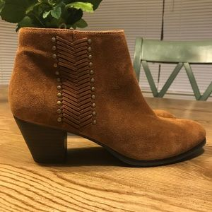 Franco Fortini Nicolette Suede Leather Boots 10